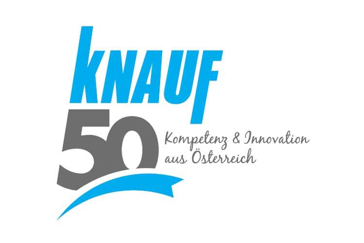 Knauf jubilejni logotip
