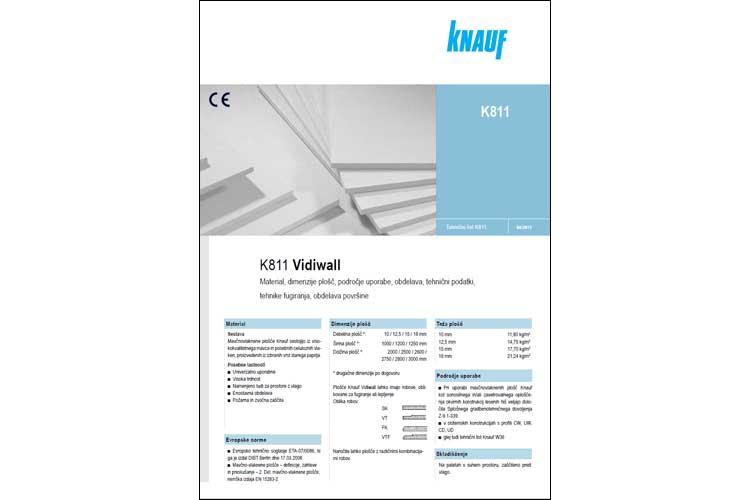 Knauf tehnični listi